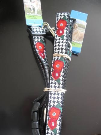 best dog blog, champion of my heart, rc pet products collar and leash (poppies)