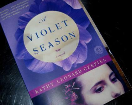 A violet season - book cover book review