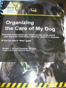 Book Review: Organizing the Care of My Dog Workbook