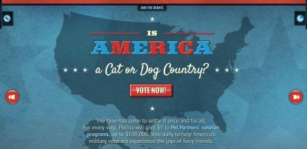 best dog blog, champion of my heart, purina america's pet debate graphic