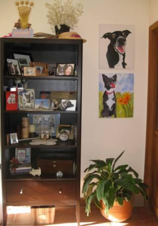 best dog blog, champion of my heart, bookshelf