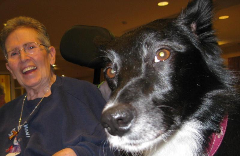 best dog blog lilly and grandma