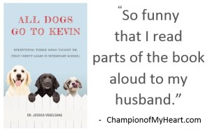 Book Review: All Dogs Go to Kevin by Veterinarian Jessica Vogelsang
