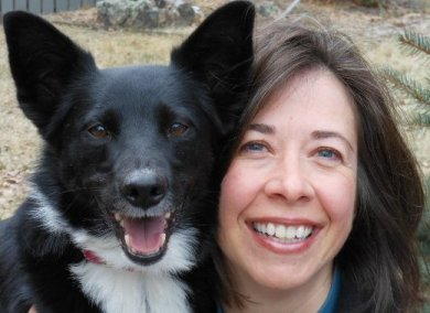 best dog blog, champion of my heart, photo of Roxanne Hawn and Lilly Hawn