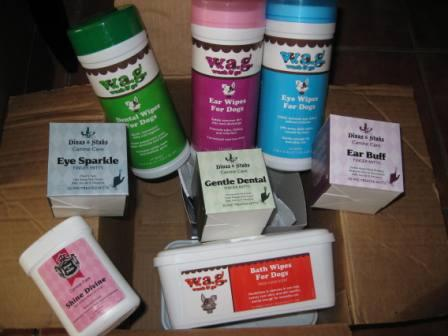 best dog blog, champion of my heart, dog product review, dog grooming wipes