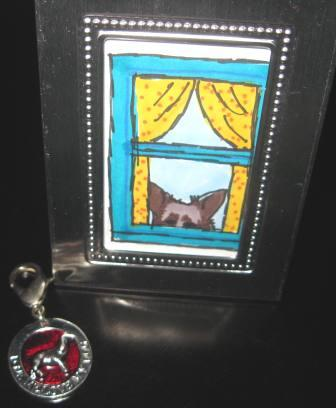 best dog blog, champion of my heart, photo of gifts blog readers have sent