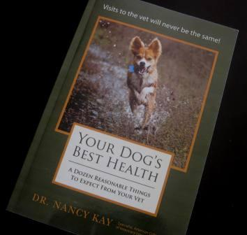 best dog blog, champion of my heart, your dog's best health book cover