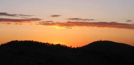best dog blog, champion of my heart, sunrise in the Colorado Rocky Mountains