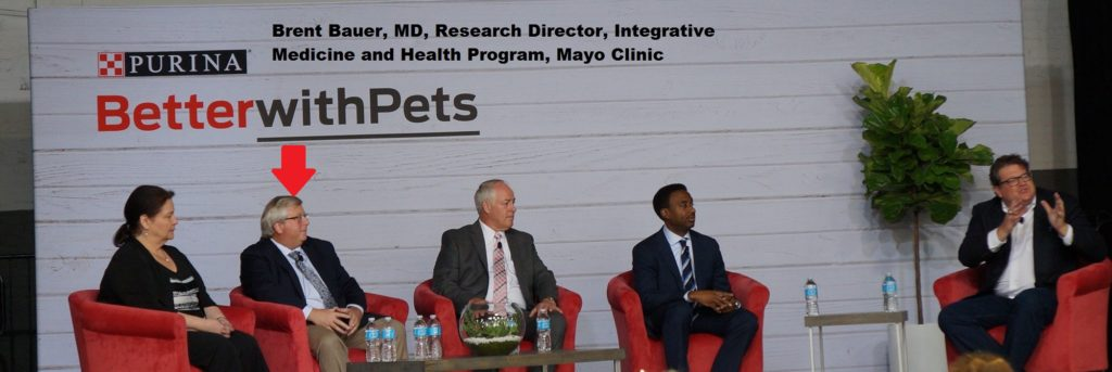 Mayo Clinic and Purina research partnership announcement
