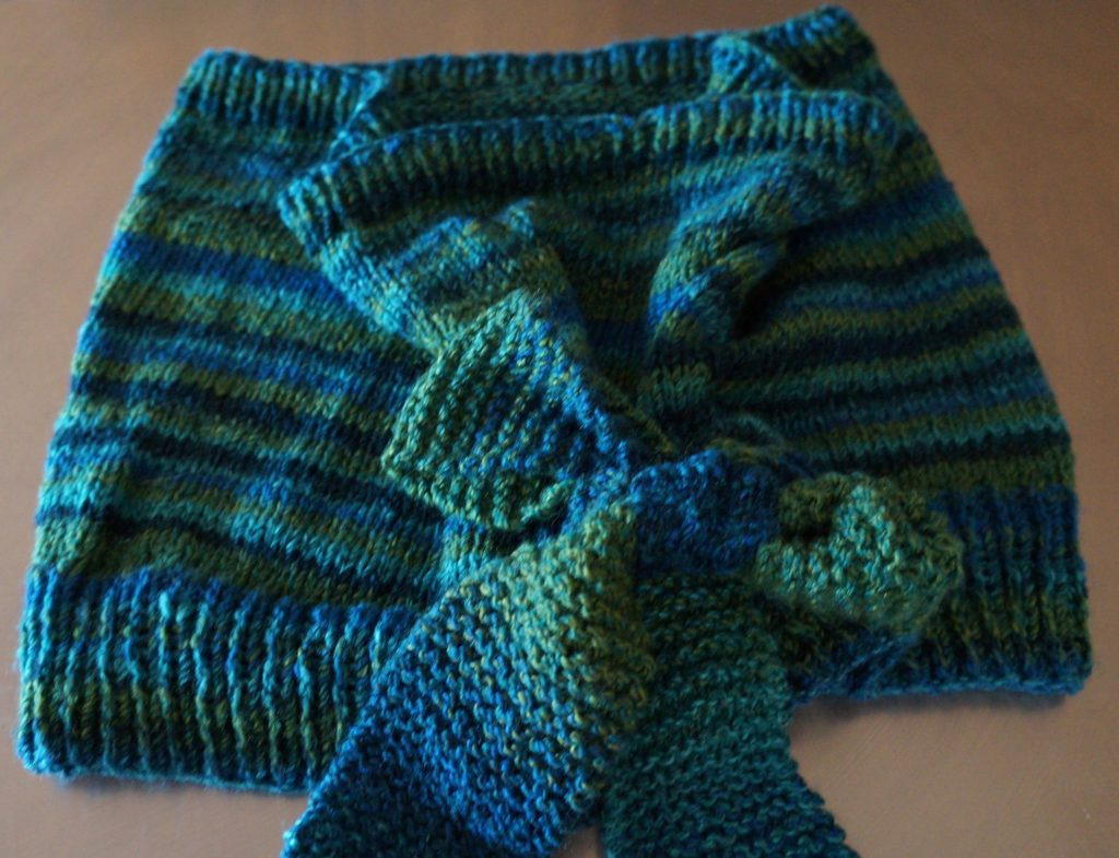 knitted shawl photo