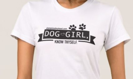 dog girl t-shirt