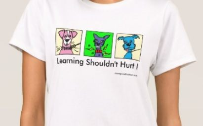 learning shouldn't hurt t-shirt