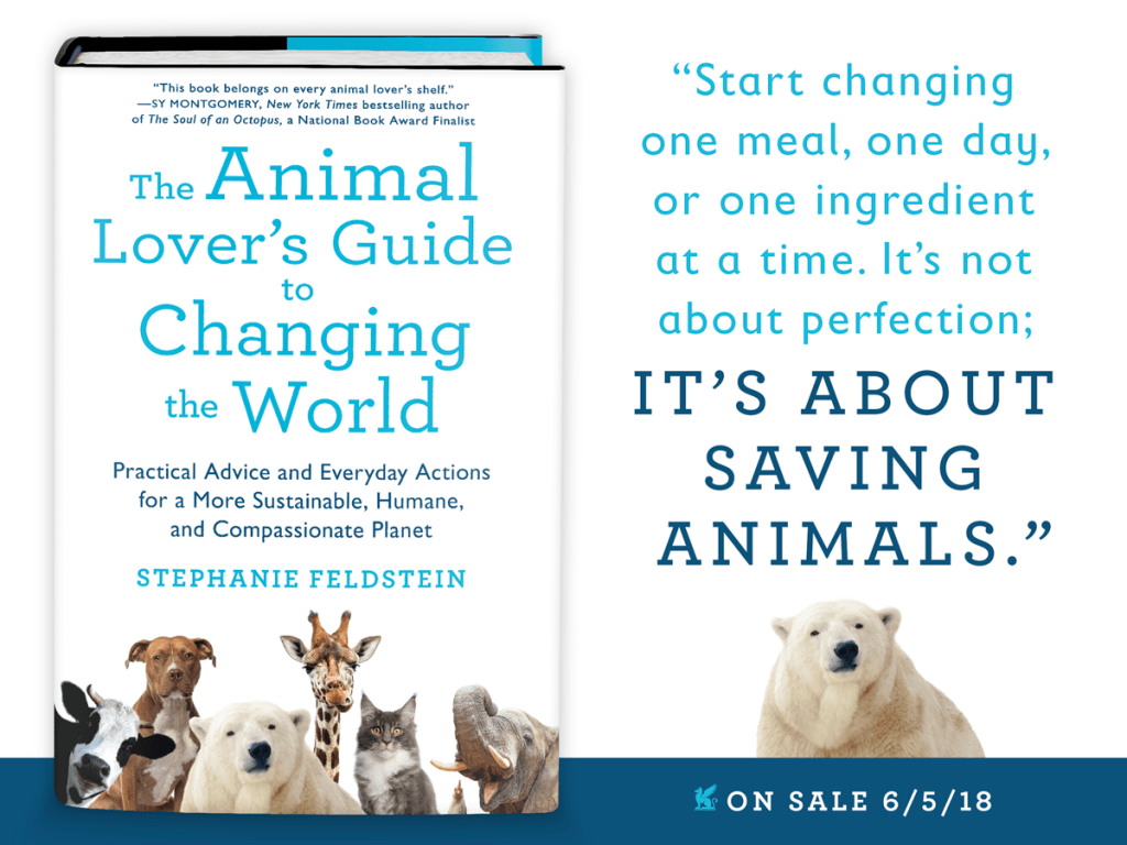 book review animal lovers guide to changing the world diet quote graphic