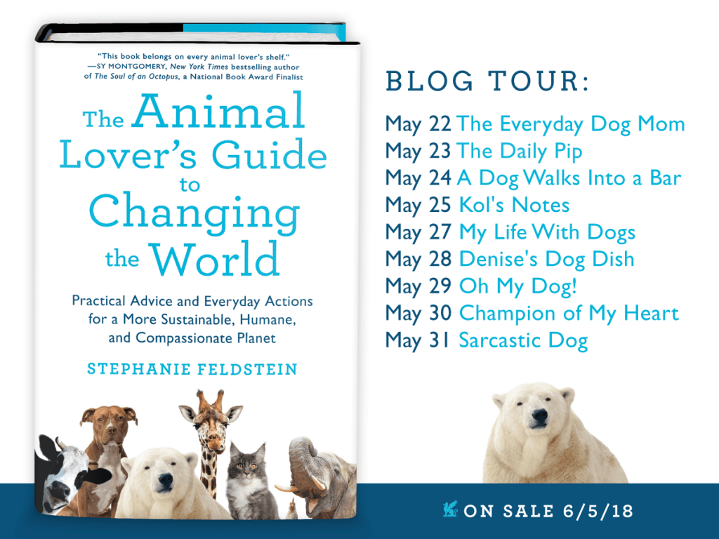 book review animal lovers guide to changing the world blog book tour