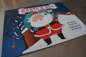 Dog Book Review Santa's Dog book cover