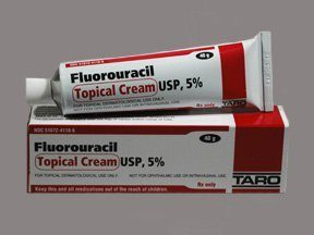 5-fluorouracil tube of ointment