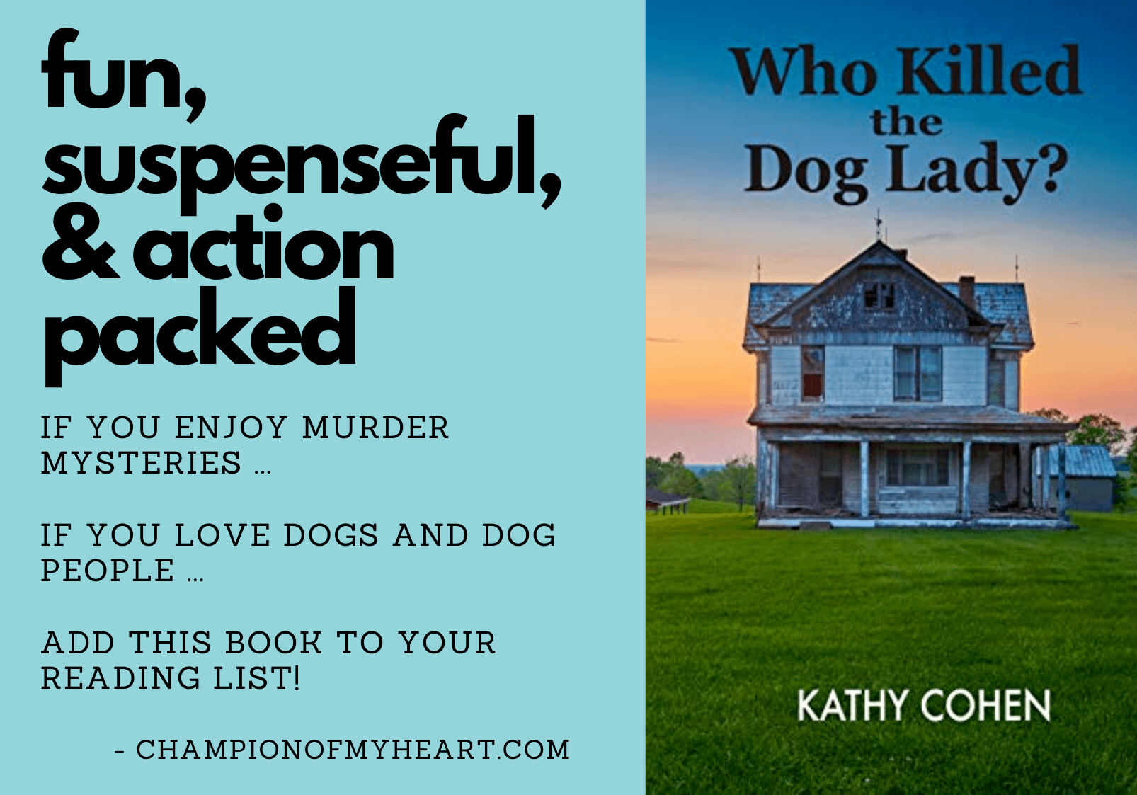 book review who killed the dog lady